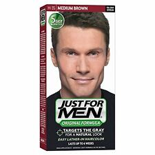 2 Pack - JUST FOR MEN Hair Color Medium Brown 35, 1 Each