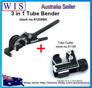 3 in 1 Tube Pipe Bender,Curving Pliers,Copper Tube Bender & Tube Cutter 3-28mm