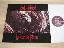 ENTOMBED LP - WOLVERINE BLUES / MOSH 82 PRESS in MINT