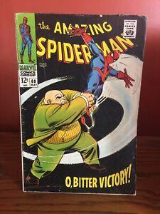 The Amazing Spider-Man #60 Comic Book Stan Lee, Romita Sr. Cover Silver Age