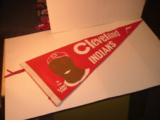 Rare!! 1940's Cleveland Indians Larry Doby Pennant