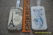 2 x HandyTasche u.a. Sony Xperia E, J, P und Nokia Ashia 202, 302, 303 etc.