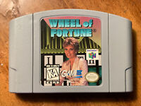 Nintendo 64 N64 Game Cartridge - Wheel of Fortune - Cleaned Tested Authentic