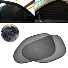 2Pcs Mesh UV Protection Side Rear Window Car Sun Shade Cover Sunshade Shield