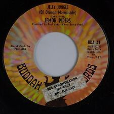 LEMON PIPERS: Jelly Jungle / Shoeshine Boy BUDDAH DJ PROMO 45 VG++