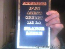 Memoires d' un agent secret de la france libre tome I par Remy