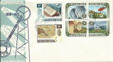 1973 Communications  set of  6 FDI Port Moresby 24.1.73 Unaddressed Cover