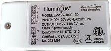 12V 12W Dimmable CV DC LED Driver ETL (UL) approved