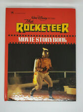 Rocketeer Movie Storybook Walt Disney A Golden Book Hard Cover 1991