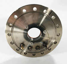 """Electrical Feed Through, Conflat 6"""" flange, 2.75"""" Reducer SHV connectors UHV CFF"""