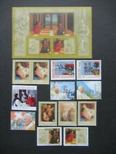 2005 LOT VATICAN VATICANO SETS AND BLOCK ITALY VF MNH B320.2 START $0.99