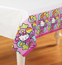 Hello Kitty Party Supplies TABLE COVER 54 x 96 inch Plastic Genuine