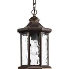 Progress Lighting Edition Collection 1-Light Outdoor Antique Bronze Hanging Lant