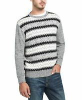 Weatherproof Men's Sweater Black Marl Size 2XL Fair Isle Crewneck $75 260