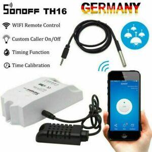 Sonoff APP-Steuerung Temperatur Feuchtigkeit WiFi Switch Automation Schalter