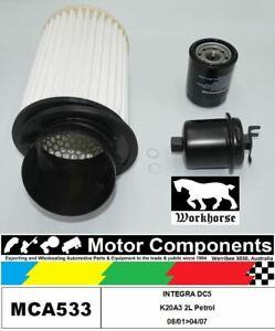 FILTER SERVICE KIT for Honda INTEGRA DC5 K20A3 2L Petrol 08/01>04/07