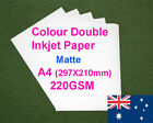 30 sheets A4 220GSM Inkjet Double Side Matte Photo Paper