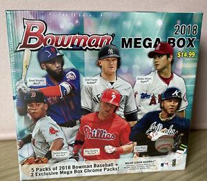 2018 Bowman Mega Box BOX Robert Tatis Soto Acuna CHROME Factory Sealed