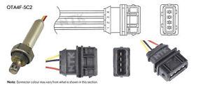 NGK NTK Oxygen Lambda Sensor OTA4F-5C2 fits Volvo S40 1.9 T4 (VS) 147kw, 2.0 ...