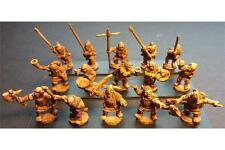 15mm Fantasy Orcian Officers,Standards,& Musicians (15 figs)