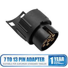 12V 13 a 7pin Adaptador Enchufe Convertidor Electrónico Camión Conector Remolque