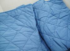 Pottery Barn Teen Blue Finley Stripe Full Queen Quilt New