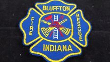 """Bluffton Indiana Fire Rescue Patches- 3 1/2"""" x 3 1/2"""""""
