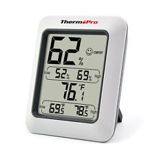 ThermoPro Digital LCD Indoor Thermometer Hygrometer Temperature Humidity Meter
