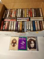 Vintage Casette tapes lot of 50 Very Good Misc Artists Dolly Parton Whitesnake