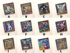 Stained Glass Disney Church Window Pattern Art Cupboard Wardrobe Fridge Magnets