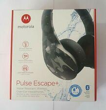 Motorola Pulse Escape + Wireless Over-Ear Headphones - Black