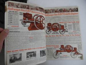 1913 William Galloway Farm Supply Catalog Engines Wagons More Waterloo Iowa