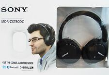 Sony MDR-ZX780DC Noise-Cancelling Bluetooth Headphones - Black Open Box