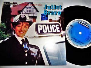 JULIET BRAVO Theme VINYL 45 Library Synth Funk Cult TV BBC Records NM Derek Goom