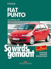 FIAT PUNTO 1999-2006 REPARATURANLEITUNG SO WIRDS GEMACHT 125 WERKSTATTHANDBUCH