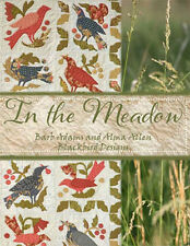 In the Meadow Quilting Applique Pattern Blackbird Designs Book