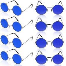 ec0e1cb3dc53 German Trendseller® 1 x Brille John Lennon ┃ Hippie Flower Power ┃ Ultra  Blau