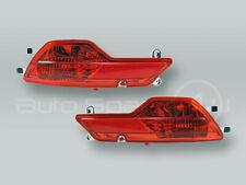 Rear Bumper Reflector Light PAIR fits 2008-2014 BMW X6 E71 E72