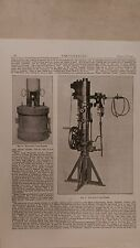 Hailwood's Lamp Igniter And Tester: 1908 Engineering Magazine Print
