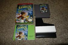 Little Samson (Nintendo Entertainment System NES, 1992) Complete In Box GREAT
