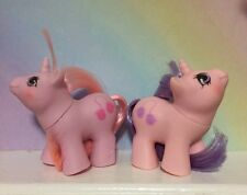 MY LITTLE PONY G1**Twin Baby SNIFFLES & SNOOKUMS (Vintage) Baby Pony Twins  1987