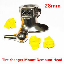 28mm Tire Changer Cast Steel Demount Duck Head Protector +3 Pads For Motorcycles
