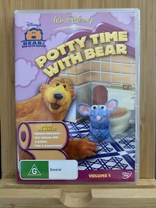 Bear In The Big Blue House Potty Time With Bear - DVD - Region 4 Rare