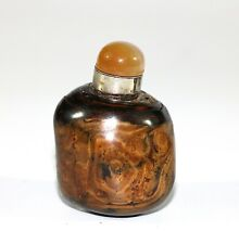 A Vintage Chinese Huangyang wood snuff bottle 0957A3