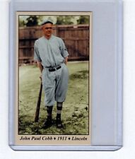 John Paul Cobb - Ty Cobb's brother - 1911 Lincoln Railsplitters Tobacco Road #48