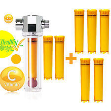 Vitafresh Shower Filter with 7pcs Vitamin C Cartridge Vitamin Shower Water UBS