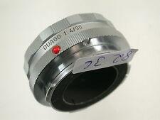 Leica ouago 4/90 accroc Tube Recharge-Escargot Visoflex/14