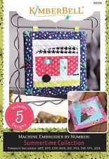 MACHINE EMBROIDER BY NUMBER SUMMERTIME COLLECTION EMBROIDERY CD, From Kimberbell
