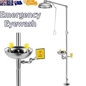 Emergency Eyewash Eye Wash Safety Combination Emergency Shower Stainless