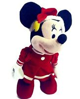 Disney Animated Christmas Holiday Minnie Mouse 12'' Sings 'Deck the Hall' Dances